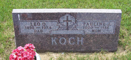 KOCH, LEO O. - Shelby County, Iowa | LEO O. KOCH