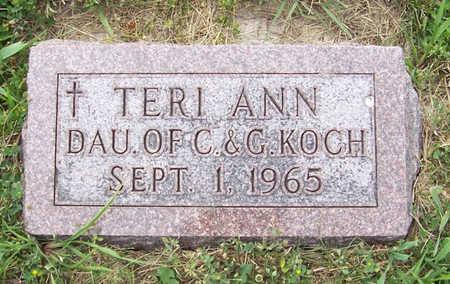 KOCH, TERI ANN - Shelby County, Iowa   TERI ANN KOCH