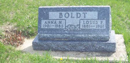 KOHL BOLDT, ANNA MARGRETTA - Shelby County, Iowa | ANNA MARGRETTA KOHL BOLDT