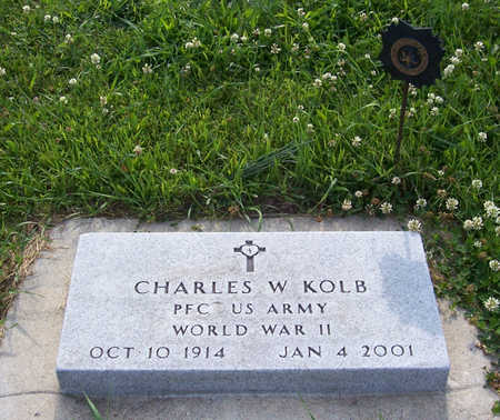 KOLB, CHARLES W. (MILITARY) - Shelby County, Iowa | CHARLES W. (MILITARY) KOLB
