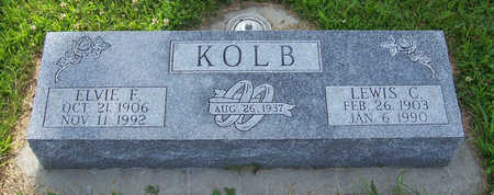 KOLB, ELVIE F. - Shelby County, Iowa | ELVIE F. KOLB