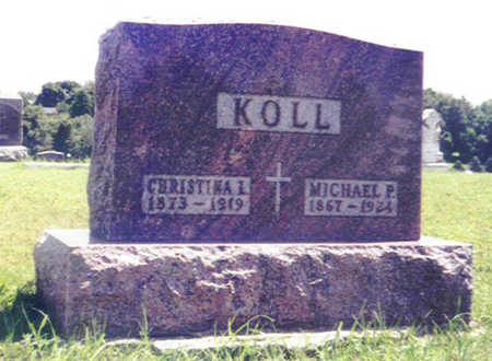 KOLL, CHRISTINA L. - Shelby County, Iowa | CHRISTINA L. KOLL