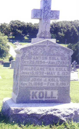 KOLL, MARGARETHA - Shelby County, Iowa | MARGARETHA KOLL