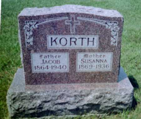 KORTH, JACOB JR. - Shelby County, Iowa | JACOB JR. KORTH