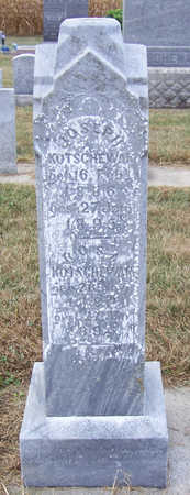 KOTSCHEWAR, JOSEPH - Shelby County, Iowa | JOSEPH KOTSCHEWAR