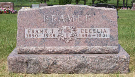 SCHECHINGER KRAMER, CECELIA - Shelby County, Iowa | CECELIA SCHECHINGER KRAMER