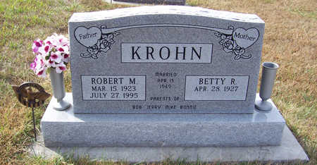 KROHN, ROBERT M. - Shelby County, Iowa | ROBERT M. KROHN
