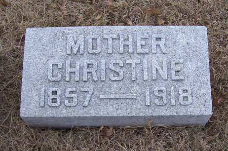 KRUCKENBERG, CHRISTINE (MOTHER) - Shelby County, Iowa | CHRISTINE (MOTHER) KRUCKENBERG