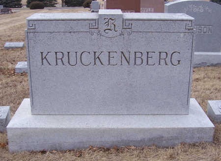 KRUCKENBERG, FREDERICK & CHRISTINE (LOT) - Shelby County, Iowa | FREDERICK & CHRISTINE (LOT) KRUCKENBERG