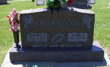 KWAPISZESKI, ALICE A. - Shelby County, Iowa | ALICE A. KWAPISZESKI