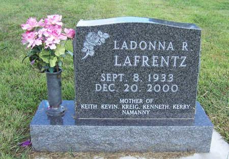 LAFRENTZ, LADONNA R. - Shelby County, Iowa | LADONNA R. LAFRENTZ