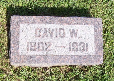 LAMER, DAVID W. - Shelby County, Iowa | DAVID W. LAMER