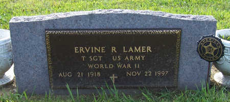LAMER, ERVINE R. (MILITARY) - Shelby County, Iowa | ERVINE R. (MILITARY) LAMER