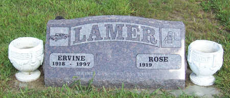 LAMER, ROSE - Shelby County, Iowa | ROSE LAMER