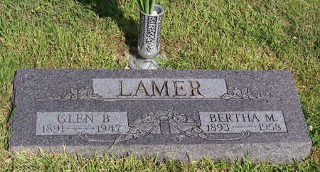 LAMER, GLEN B. - Shelby County, Iowa | GLEN B. LAMER