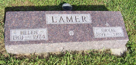 LAMER, ORVAL - Shelby County, Iowa | ORVAL LAMER