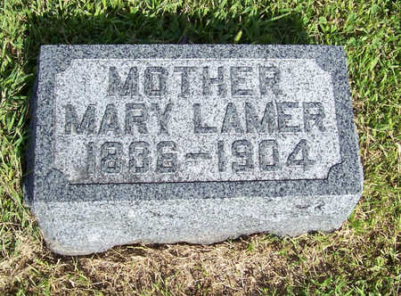 LAMER, MARY (MOTHER) - Shelby County, Iowa | MARY (MOTHER) LAMER