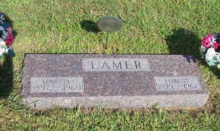 LAMER, FOREST (MILITARY) - Shelby County, Iowa | FOREST (MILITARY) LAMER