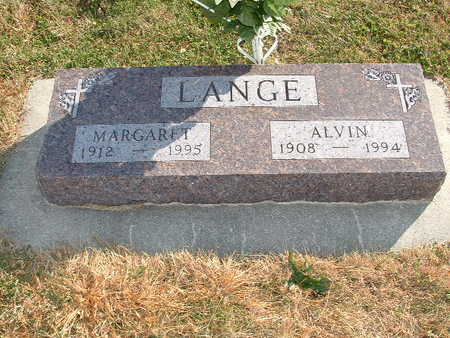 LANGE, MARGARET - Shelby County, Iowa | MARGARET LANGE