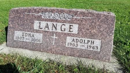 LANGE, EDNA AMANDA - Shelby County, Iowa | EDNA AMANDA LANGE