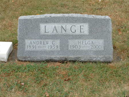 LEISTAD LANGE, HELGA - Shelby County, Iowa | HELGA LEISTAD LANGE