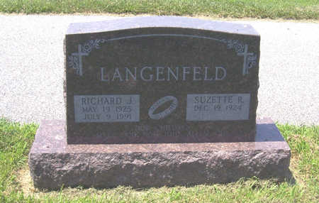 LANGENFELD, RICHARD J. - Shelby County, Iowa | RICHARD J. LANGENFELD