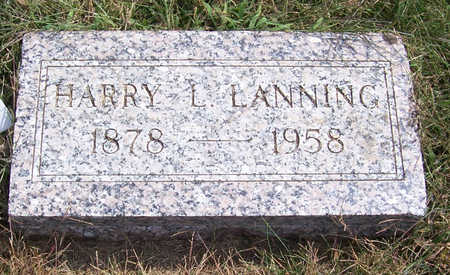 LANNING, HARRY L. - Shelby County, Iowa | HARRY L. LANNING