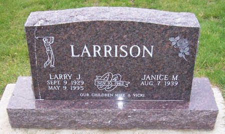 LARRISON, LARRY J. - Shelby County, Iowa | LARRY J. LARRISON