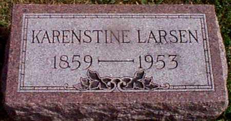 LARSEN, KARENSTINE - Shelby County, Iowa | KARENSTINE LARSEN