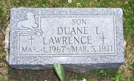 LAWRENCE, DUANE L. - Shelby County, Iowa | DUANE L. LAWRENCE