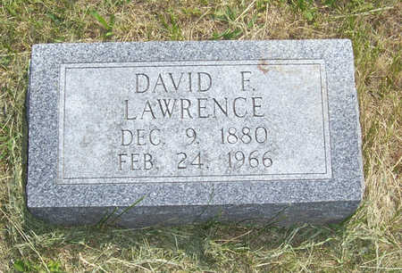 LAWRENCE, DAVID F. - Shelby County, Iowa | DAVID F. LAWRENCE