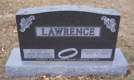 DAVIS LAWRENCE, FRANCES L. - Shelby County, Iowa | FRANCES L. DAVIS LAWRENCE