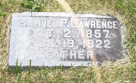 LAWRENCE, SAMUEL P. - Shelby County, Iowa   SAMUEL P. LAWRENCE