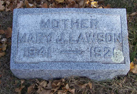 LAWSON, MARY J. (MOTHER) - Shelby County, Iowa | MARY J. (MOTHER) LAWSON