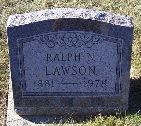 LAWSON, RALPH N. - Shelby County, Iowa | RALPH N. LAWSON