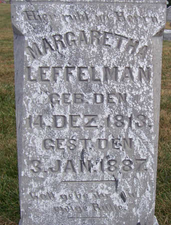 LEFFELMAN, MARGARETHA (CLOSE UP) - Shelby County, Iowa | MARGARETHA (CLOSE UP) LEFFELMAN