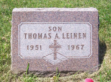LEINEN, THOMAS A. - Shelby County, Iowa | THOMAS A. LEINEN