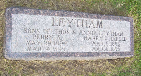 LEYTHAM, HARRY - Shelby County, Iowa | HARRY LEYTHAM