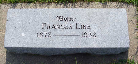 LINE, FRANCES (MOTHER) - Shelby County, Iowa | FRANCES (MOTHER) LINE