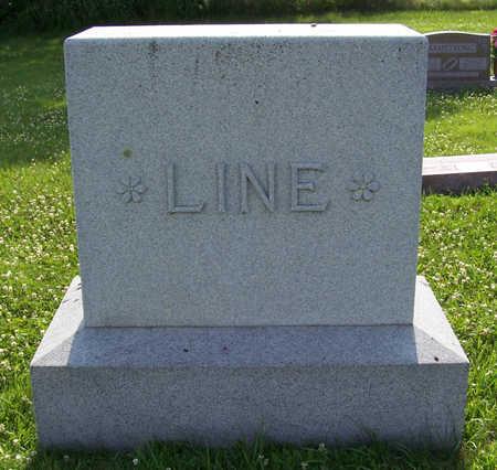 LINE, HARRY D. & ETTA L. (LOT) - Shelby County, Iowa   HARRY D. & ETTA L. (LOT) LINE
