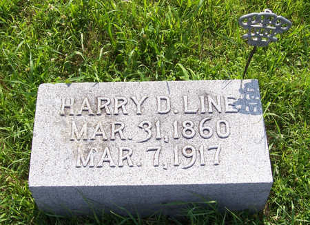 LINE, HARRY D. - Shelby County, Iowa | HARRY D. LINE