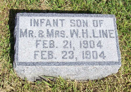 LINE, INFANT SON - Shelby County, Iowa | INFANT SON LINE