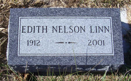 NELSON LINN, EDITH - Shelby County, Iowa | EDITH NELSON LINN