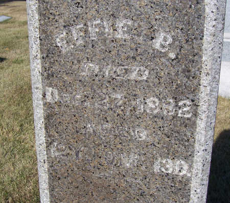 LINN, EFFIE B. (EFFA B.) - Shelby County, Iowa | EFFIE B. (EFFA B.) LINN