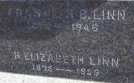 LINN, H. ELIZABETH (CLOSE-UP) - Shelby County, Iowa | H. ELIZABETH (CLOSE-UP) LINN