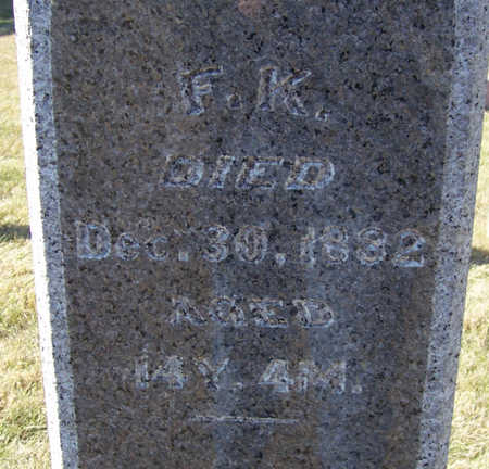 LINN, F. K. (FLORENCE K.) - Shelby County, Iowa | F. K. (FLORENCE K.) LINN