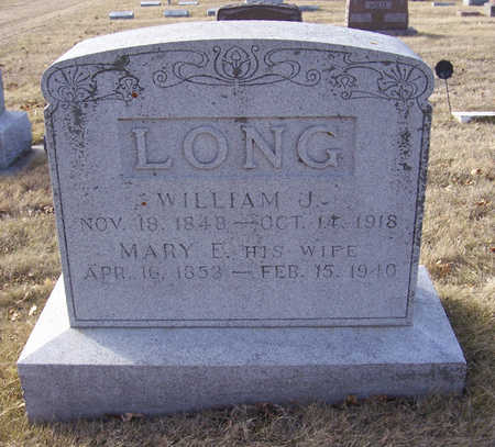 LONG, WILLIAM J. & MARY E. (LOT) - Shelby County, Iowa | WILLIAM J. & MARY E. (LOT) LONG