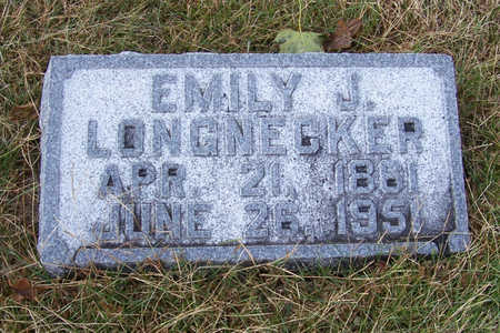 LONGNECKER, EMILY J. - Shelby County, Iowa | EMILY J. LONGNECKER
