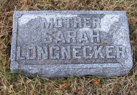 LONGNECKER, SARAH (MOTHER) - Shelby County, Iowa | SARAH (MOTHER) LONGNECKER
