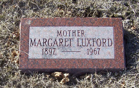 LUXFORD, MARGARET (MOTHER) - Shelby County, Iowa | MARGARET (MOTHER) LUXFORD